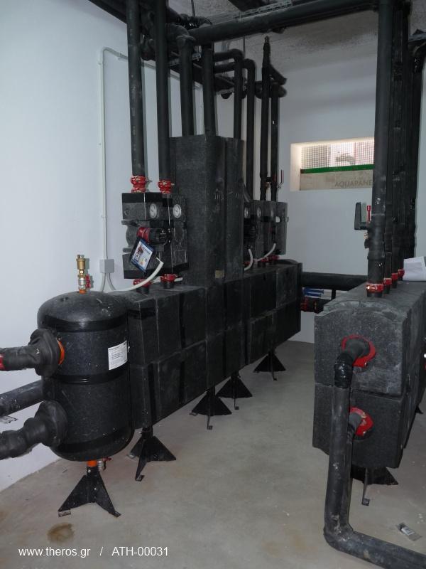 Υδραυλικός διαχωριστής Meibes σε μηχανοστάσιο στο Κορωπί