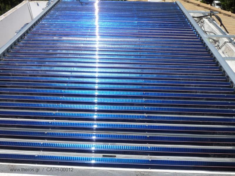 Οι συλλέκτες κενού για την ηλιακή θέρμανση