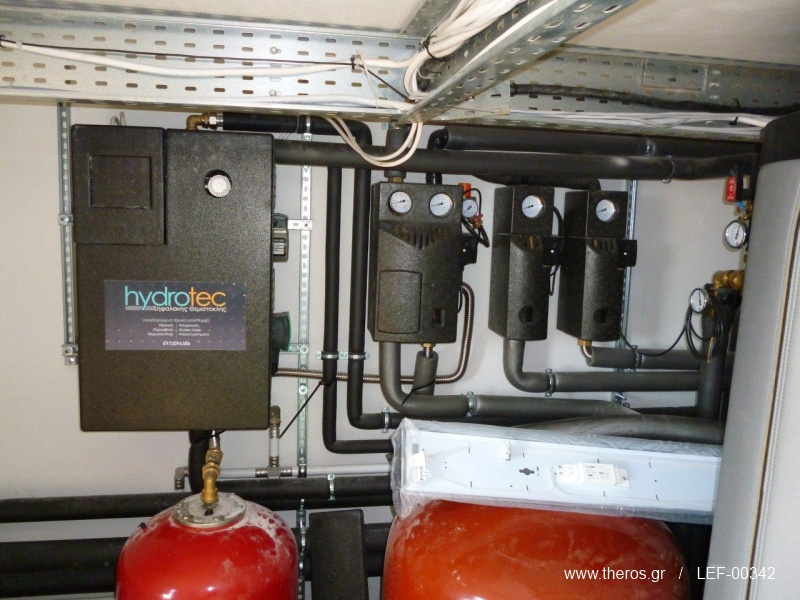 Ο σταθμός παραγωγής ζεστού νερού Meibes LogoFresh Kompakt