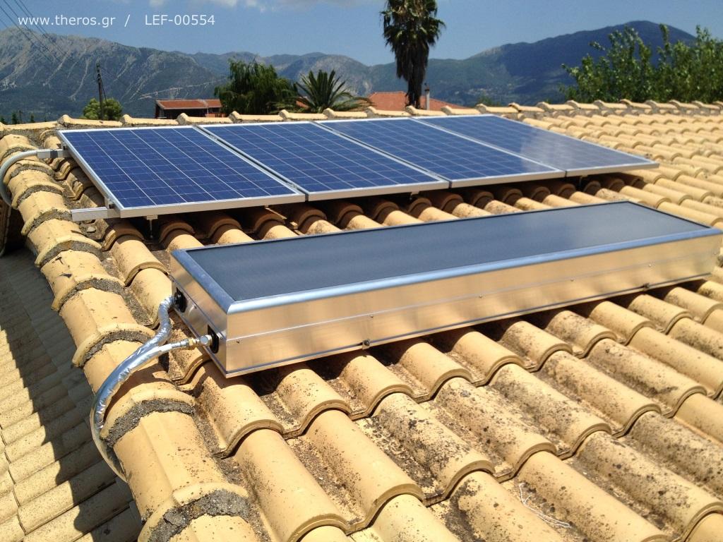 Ηλιακός θερμοσίφωνας Solcrafte Style 100
