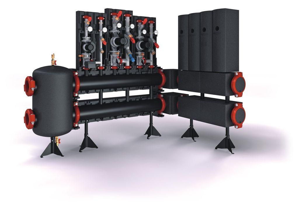 Μηχανοστάσιο θέρμανσης Meibes